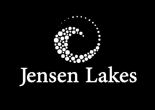 White Jensen Lakes Community Logo