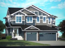 Luxurious living in Jensen Lakes. Pacesetter homes designed in St. Albert.