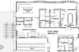 Floor Plan of Jubilation's Beach Club
