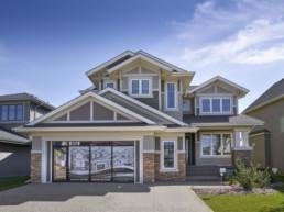 View homes in Jensen Lakes, St. Albert's lake community