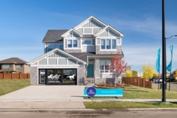 The Ellerston estate home in Jensen Lakes St. Albert. Experience lake living in Jensen Lakes.